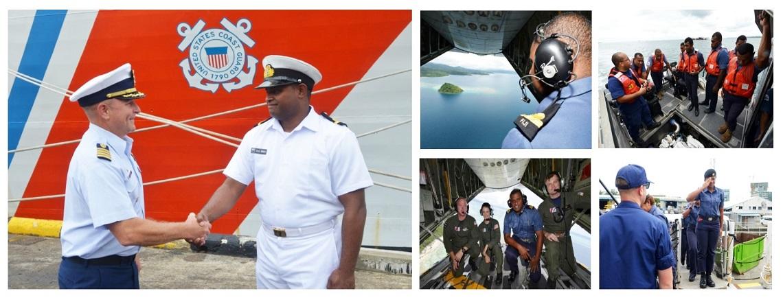 Historic first Fijian shiprider on U.S. Coast Guard cutter