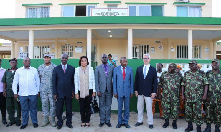 O laboratório desempenhará um papel importante no diagnóstico das tropas da FADM.