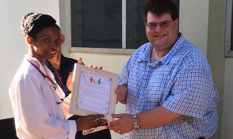 Deputy Chief of U.S. Mission Bryan Hunt at Pediatric Center of Excellence in Pemba