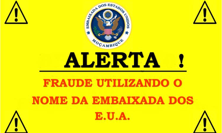 Fraude usando o nome da Embaixada dos E.U.A.