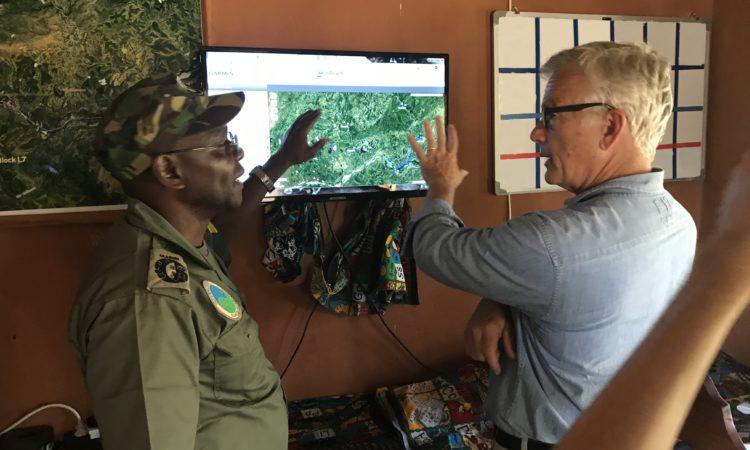 Ambassador's visit to the Niassa National Reserve