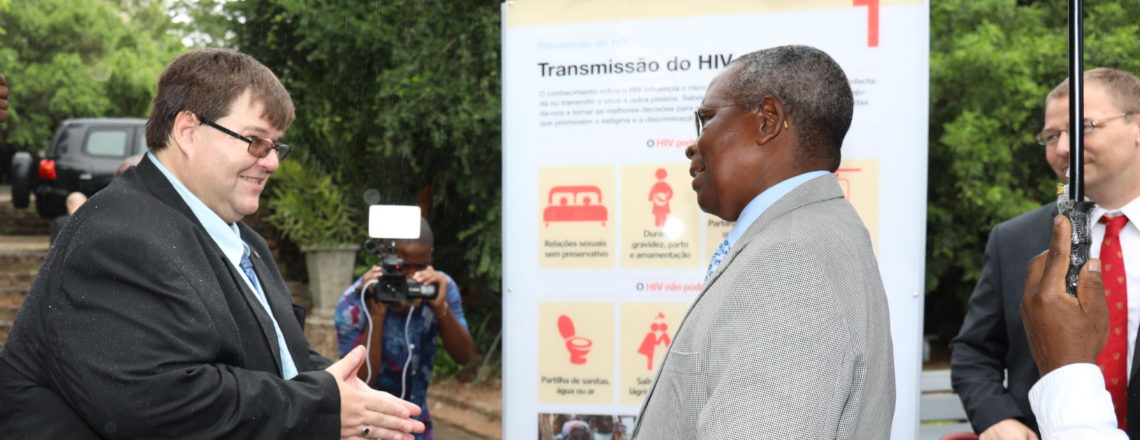 Launch of Exhibition in Tunduro Gardens Marking the 15th Anniversary of PEPFAR