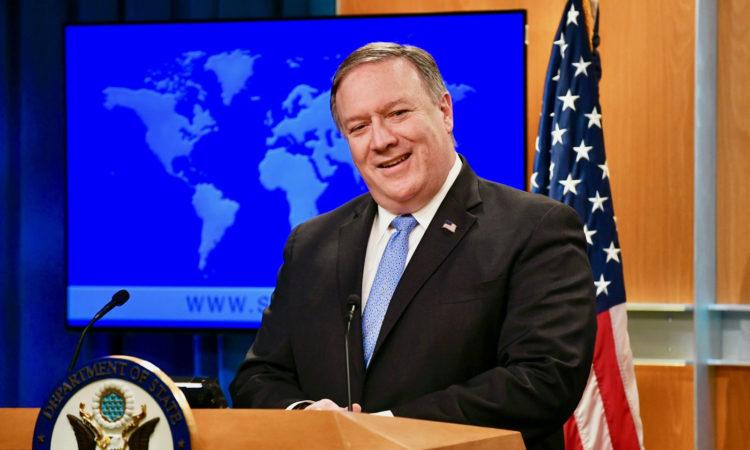 Secretário de Estado Mike Pompeo