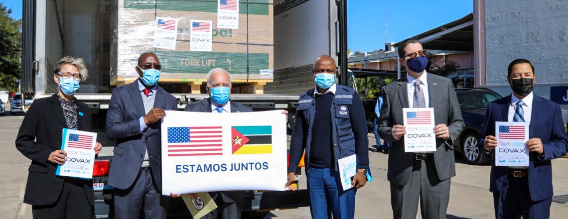 Governo dos E.U.A Doa 302.400 Doses Únicas de Vacinas da J&J para Moçambique