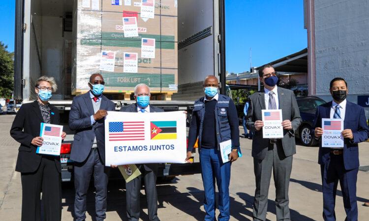 U.S. Government donates 302,400 single-dose Johnson & Johnson vaccines to Mozambique
