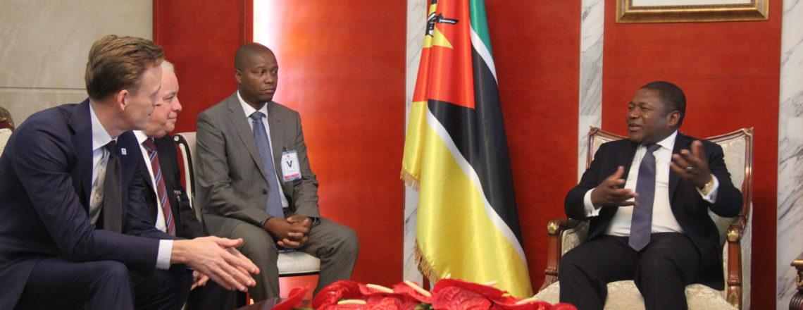 Director Executivo da Millennium Challenge Corporation Visita Moçambique