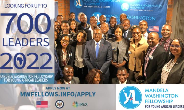 Applications for the Mandela Washington Fellowship 2022 Now Open