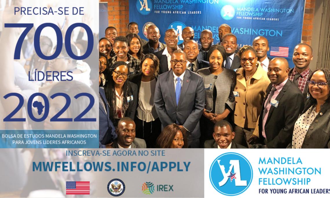 Abertas Candidaturas para a Mandela Washington Fellowship 2022