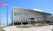 The new Embassy of the United States of America in Mozambique in Avenida Marginal 5467
