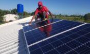 installing panel Solarworks panel in Sofala