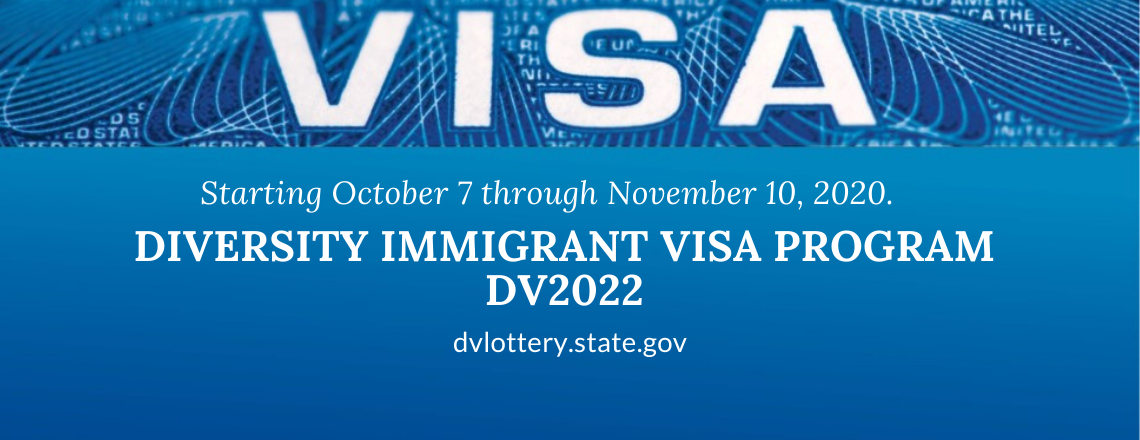 Diversity Visa programa – DV 2022