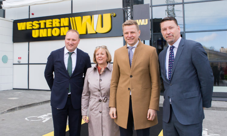 Opening of Western Union Customer Experience Center