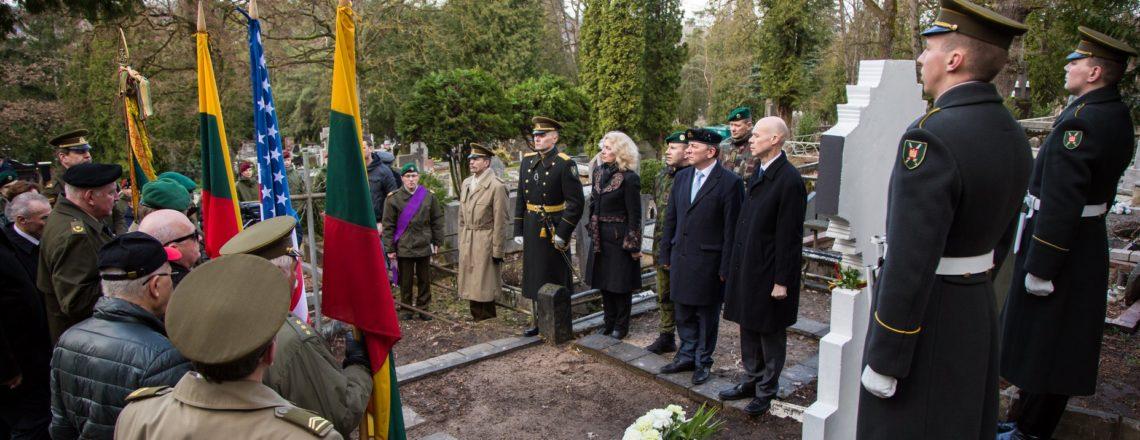 Ambasadorės pavaduotojas M.Micheli dalyvavo Prano Eimučio 100-ųjų mirties metinių minėjime