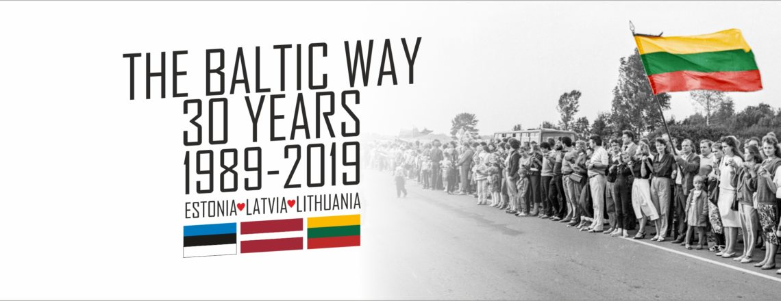 The Baltic Way marks its 30th anniversary on 23rd of August
