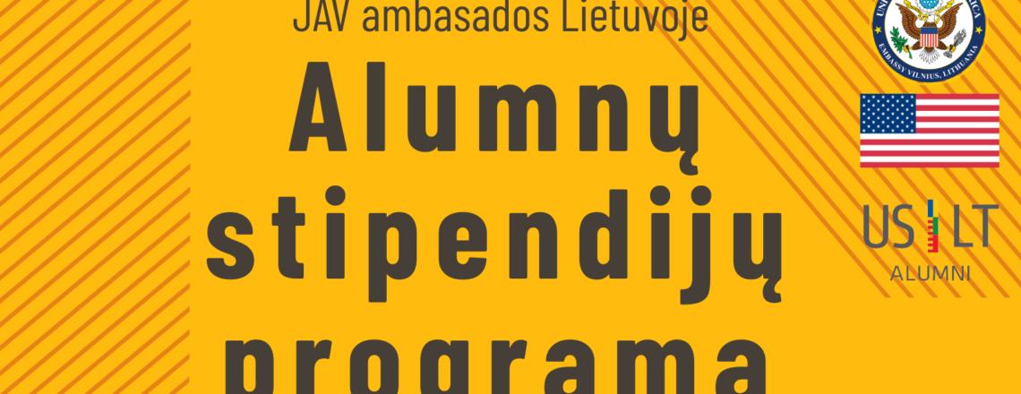 Kviečiame teikti paraiškas 2020 m. Alumnų stipendijų programai