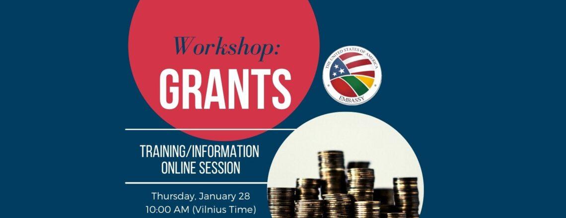 Grants Workshop
