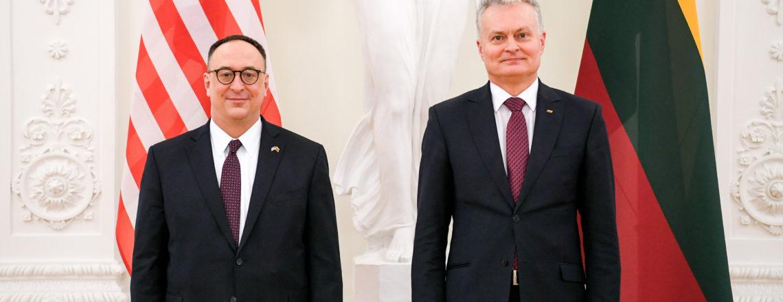 Meet the new U.S. Ambassador to Lithuania – Robert S. Gilchrist