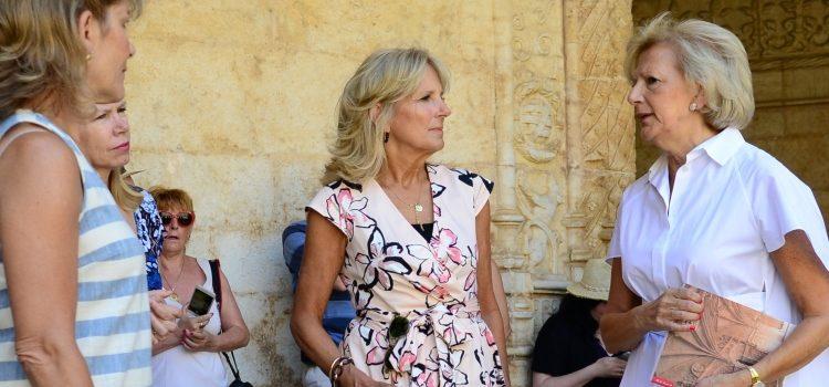 Dr. Jill Biden nos Jerónimos