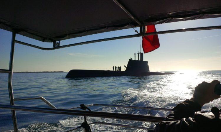 Portuguese submarine Arpao