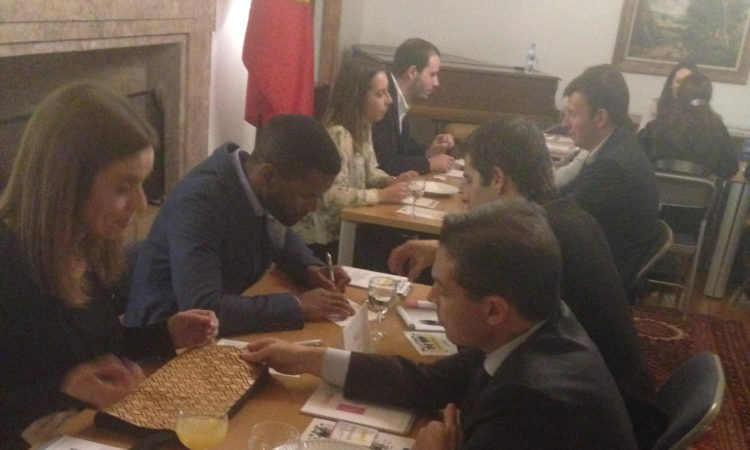 Alumni Portugal in speed networking session