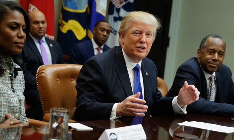 Presidente Trump proclama Mes Nacional da Historia Afro-Americana