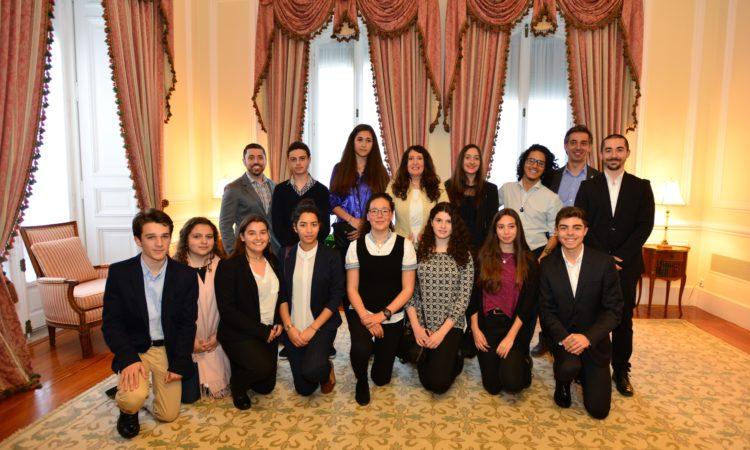 US universities group photo with Chargé Mustafa