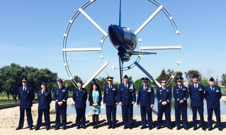 Group photo at the Air Force Academy.