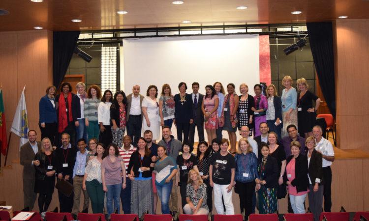 Alumni group photo in Madeira