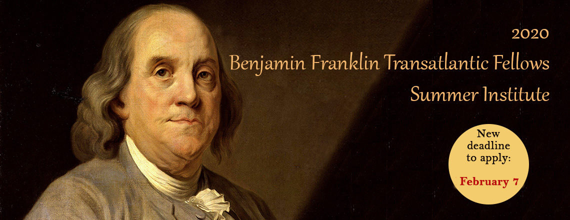 2020 Benjamin Franklin Transatlantic Fellowship