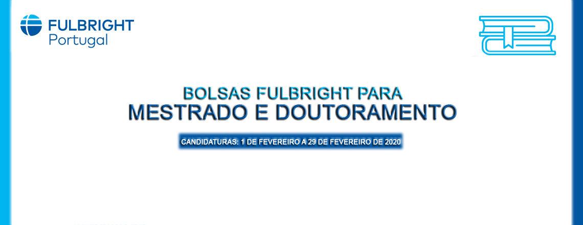 Candidaturas a Bolsas Fulbright