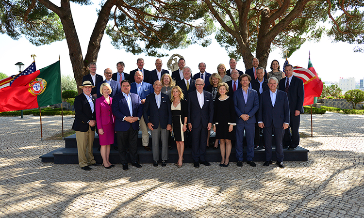 Western Europe Chiefs of Mission Meeting in Lisbon.