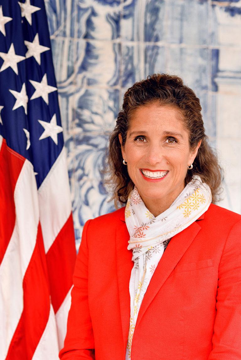 Photo of Chargé d'Affaires Kristin M. Kane