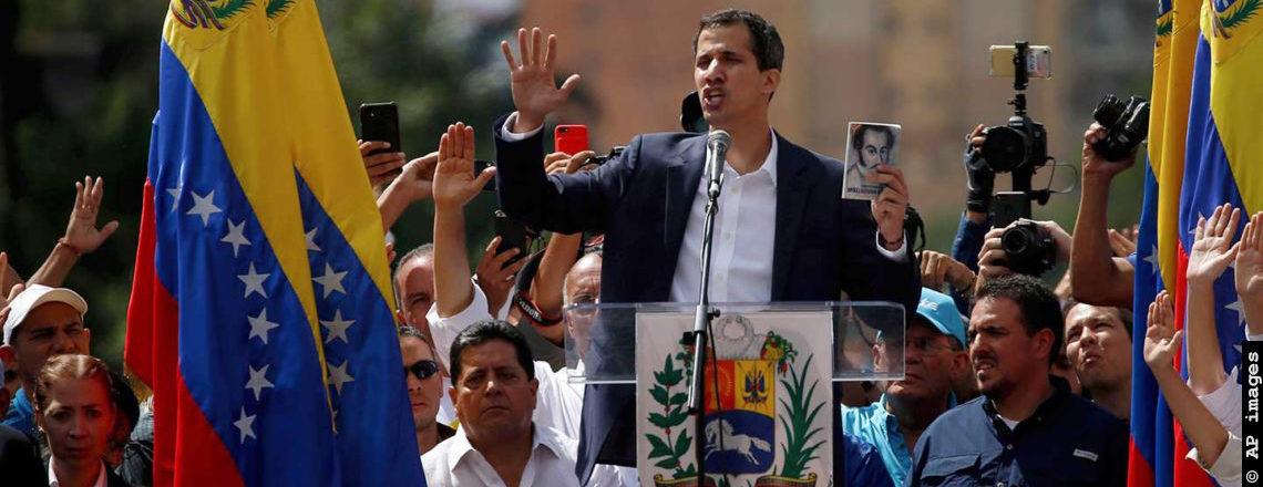 Reconhecimento de Juan Guaidó como Presidente interino