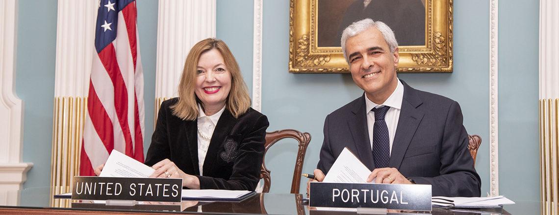 Acordo entre os E.U.A. e Portugal sobre Programa Piloto para Estudantes e Empreendedores