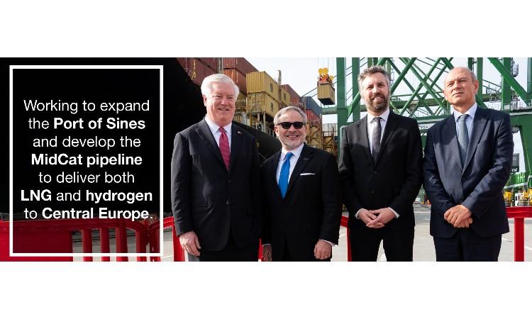 Four men standing (Embassy Image)