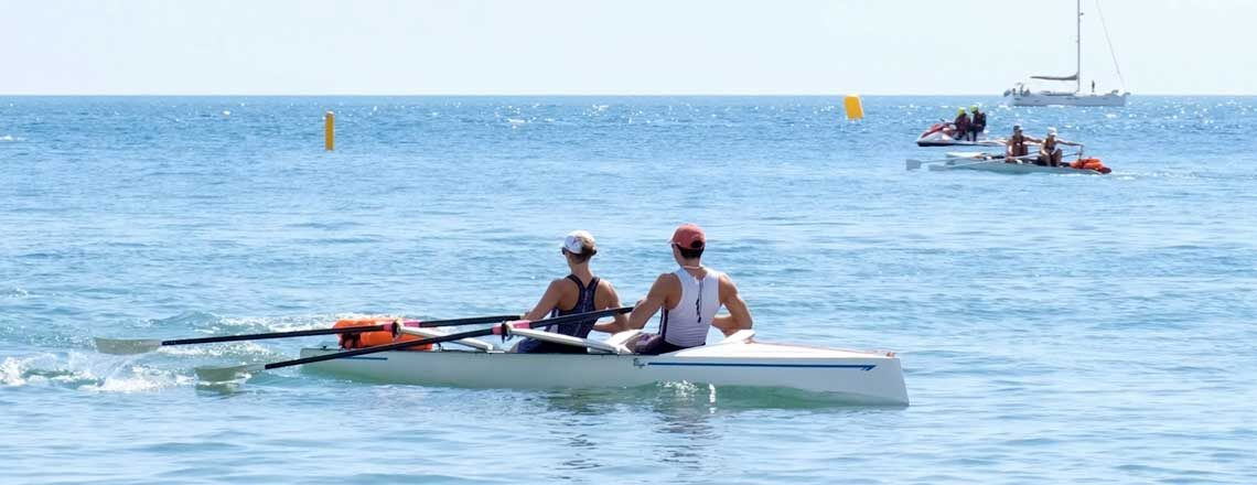 Meeting the US Rowing Team