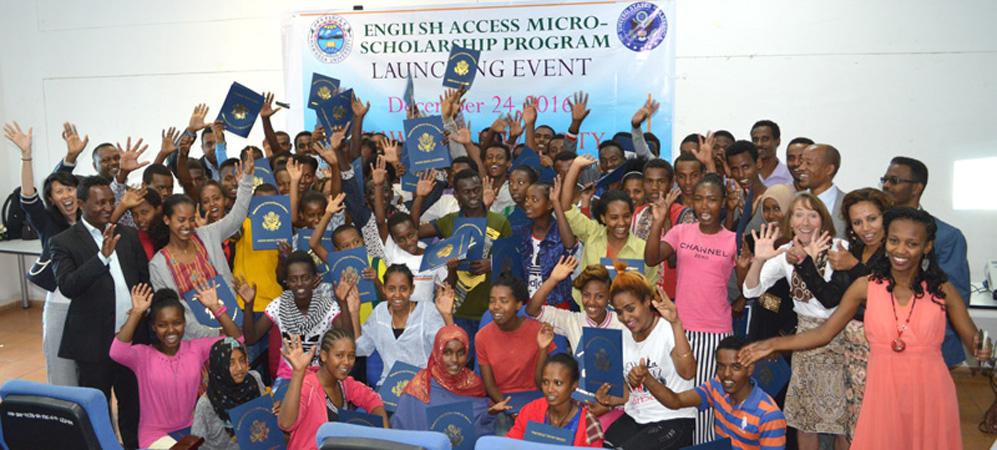 English Access Microscholarship Program Launched at Hawassa