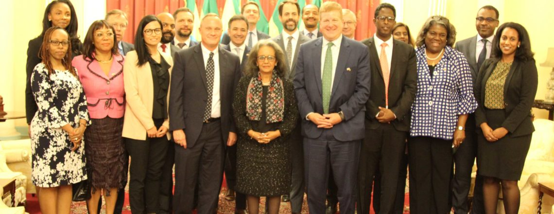 U.S. Chamber of Commerce Delegation meets with Ethiopian President Sahlework Zewdie
