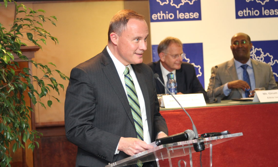 Remarks by Ambassador Raynor at Ethio Lease Event Thursday, August 8