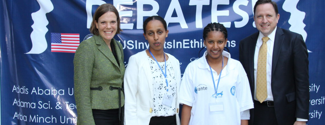 U.S. Embassy Celebrates Successful Conclusion of Ethiopia Debates! Competition