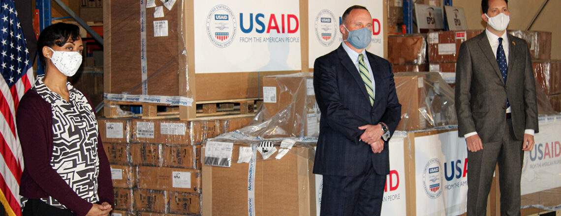 The United States Provides Ventilators to Ethiopia to Respond to COVID-19
