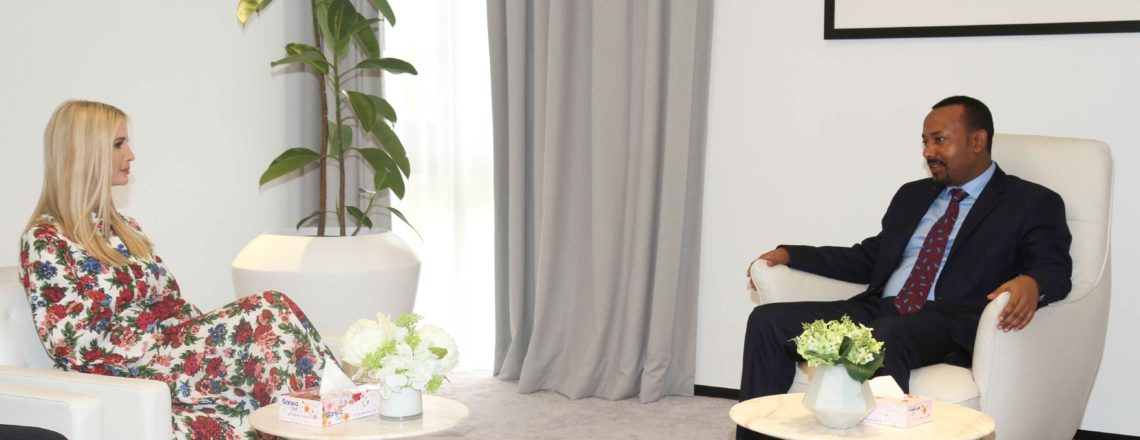 Advisor to the President's Meeting with Prime Minister Dr. Abiy Ahmed at Menelik Palace