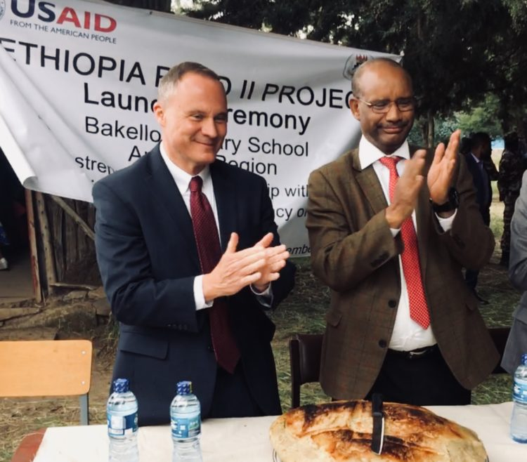 New U S  Investment Continues Support to Strengthen Ethiopia's