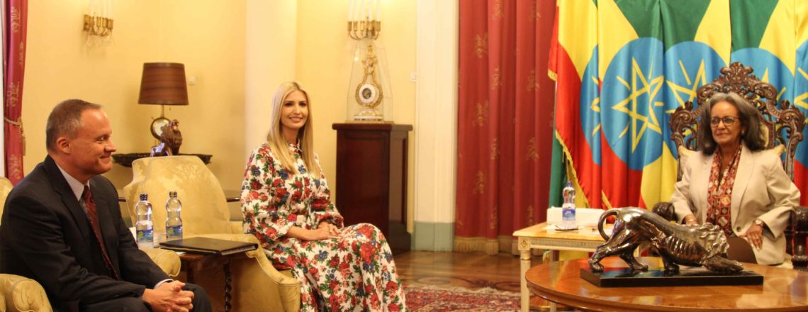 Advisor to the President Ivanka Trump's Meeting with Ethiopian President Sahle-Work Zewde