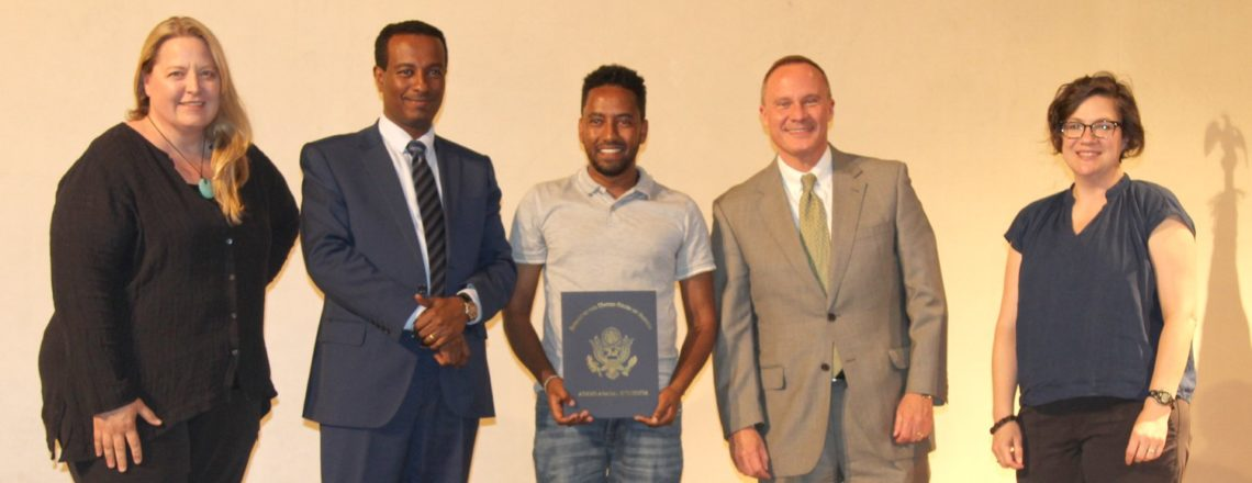 """U.S. Embassy Announces Winners of """"I Stand for Peace"""" Video Competition"""