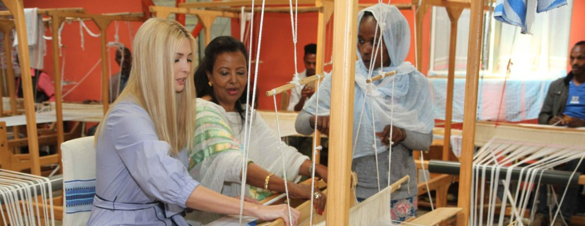 Advisor to the President Ivanka Trump's Muya Site Visit in Ethiopia