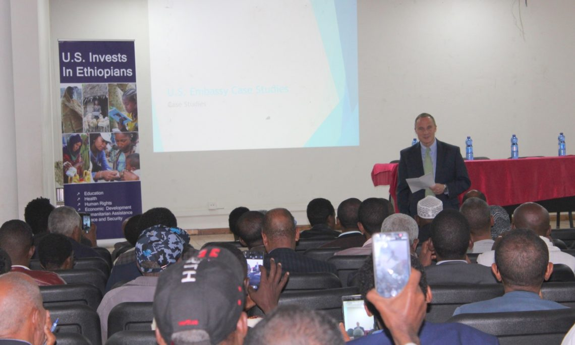 Remarks by Ambassador Michael Raynor at the Communication