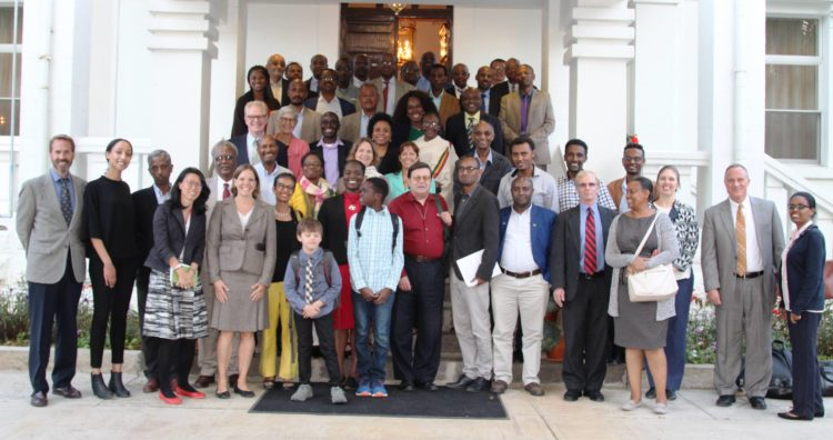 U S  Embassy Welcomes Largest Ever Cohort of American Scholars to