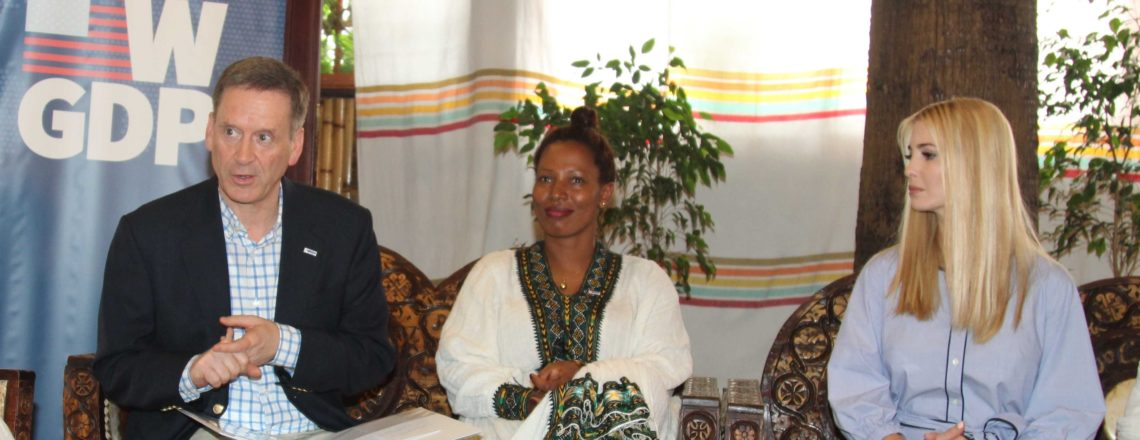 Ivanka Trump and Mark Green Meet Ethiopian Women in Coffee Association Entrepreneurs