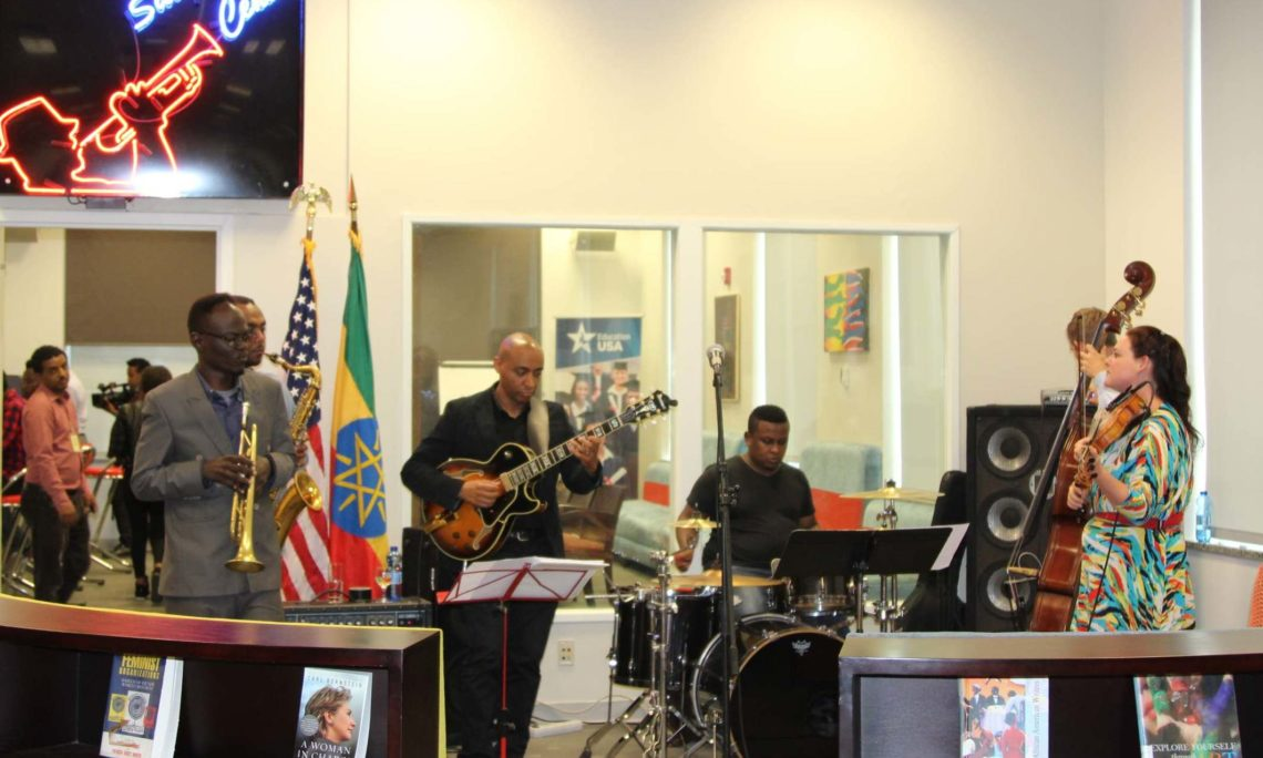 U S Embassy Inaugurates Satchmo Center Public Engagement Space U S Embassy In Ethiopia